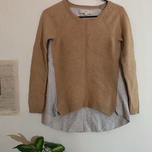 Loft wool sweater